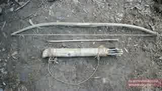 ホモと学ぶ弓と弓矢.Bow and Arrow