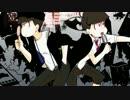 【手描き】次男と末弟でBU.N.KA.開.放.区PVパロ【おそ松さん】