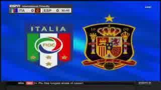 【国際親善試合】スペインvsイタリア
