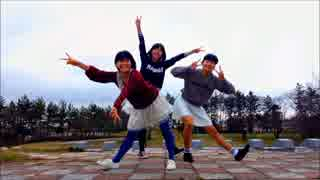 【中2三人組が】 スノートリックを踊っ