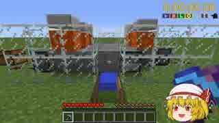 【minecraft】一番簡単にできる高速焼石製