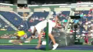 【テニス】2015年 珍プレー集