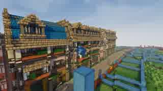 【Minecraft】気の向くままに世界を描く