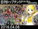 日刊トップテン!VOCALOID&something【日刊ぼかさん2016.04.06】