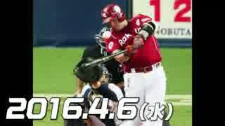 プロ野球2016 今日のホームラン 2016.4.6