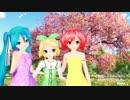 【演奏してみた×踊ってみた×MMD】桜ノ雨【シグナルズ】