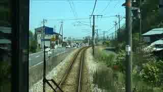 走ってる人をなかなか追い越せない列車
