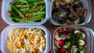 【簡単】ひとり作り置き惣菜祭りしてみた。【7種】