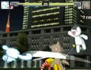 MUGEN PSO2の東京ステージ(夜Ver)を作ってみた