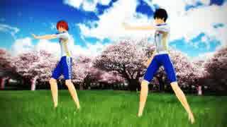 【ペダルMMD】SpringShower【新開・荒北】