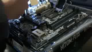 ニートがCPU core i7 6700を全力で取り付
