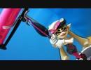 【Splatoon】アオリちゃんとヒーローローラー作ってみた【自走!?】