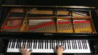 スーパーマリオカートのレインボーロードを弾いてみた【ピアノ】