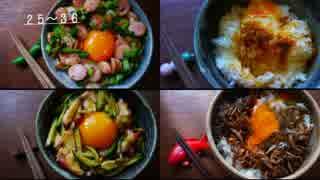 【TKG】一人卵かけご飯祭りしてみた・後編【48種】