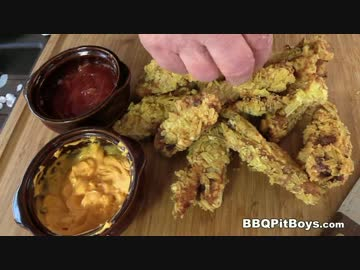 ベーコンチーズバーガーのフライ【BBQ Pit Boys】
