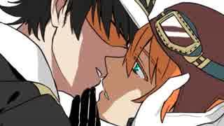 【手描き】クイカワ、脱獄のあの二人でキスをしながら唾を吐け【Neru家】 thumbnail