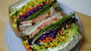 分厚いサンドイッチが食べたい!!