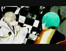【MMD刀剣乱舞】 ゴーストルール 【一期・鶴丸】