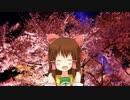神社に咲かせ、墨染の桜