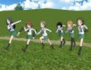【MMDドラマ&パンツァー】第九話「ウサギさんチーム走ります」