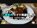 【ゆっくり】ドイツ周遊記 25 ドレスデン観光 ドイツ料理堪能