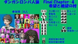 【ダンガンロンパ人狼】Final Chapter-4【