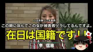 【ゆっくり保守】李信恵「私はネット私刑