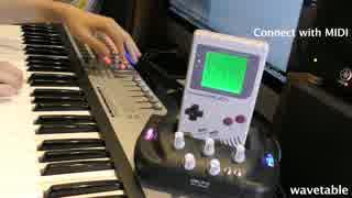 【最後に演奏あり】ゲームボーイ実機音源を弾いてみた【マリオランド】