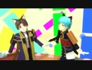 【MMD刀剣乱舞】ショタ長谷部と一期でねこみみスイッチ【年齢操作】