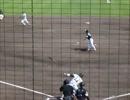 阪神VSSB(二軍) 梅野隆太郎選手 勝負を決めるタイムリーツーベース