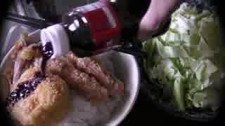 【立ち飲み】ポテトサラダでコロッケを作