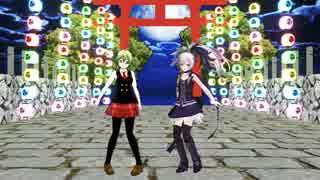 【MMD】 GUMIとv_flowerで東京サマーセッション