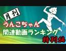 月刊うんこちゃん関連動画ランキング 2016年上半期