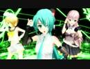 【MMD】V4Xの3人で『プラチナ』【らぶ式】