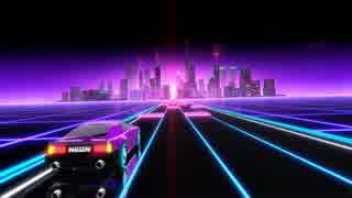 Neon Drive - '80s style arcade game トレーラー(バージョン1.5版)