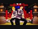 【MMD】切島・上鳴で「月見夜ラビット」【