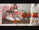 番外編マジメ君ランキング2008~2012年