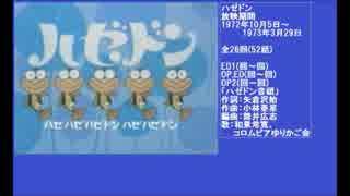 70年代アニメ主題歌集 ハゼドン