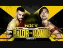 【NXT】 Shinsuke Nakamura vs Finn Bálor Part1/3