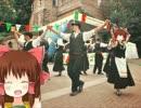 活気ある町のほのぼのお祭り神社.RPG