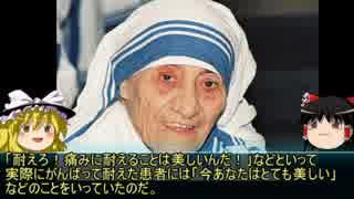 【ゆっくり歴史解説】新黒歴史上人物「マザーテレサ」