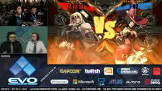 EVO2016 GGXrdR TOP16Losers TopGaren vs