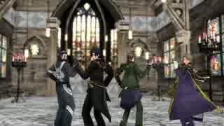 【MMD刀剣乱舞】疑心暗鬼を4人に踊ってい