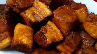 【わりと簡単】豚肉1.1kg使って角煮作った。 thumbnail