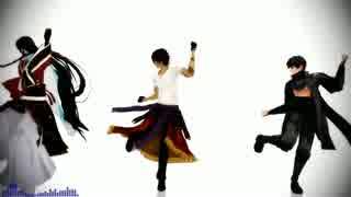 【MMD刀剣乱舞】レア3打刀で極楽浄土【大