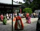 2007年7月 白峯神宮にて蹴鞠