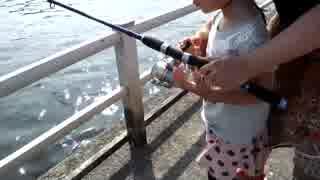 クルマで釣りに行こう♪ part 47 【家族でハゼ釣り】