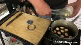 煮卵の瓶詰め