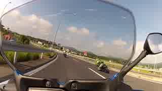 [バイク車載]CBR600RR転倒の瞬間