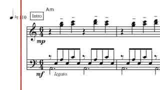 【ピアノ譜面】ひとりぼっち惑星 より ノ
